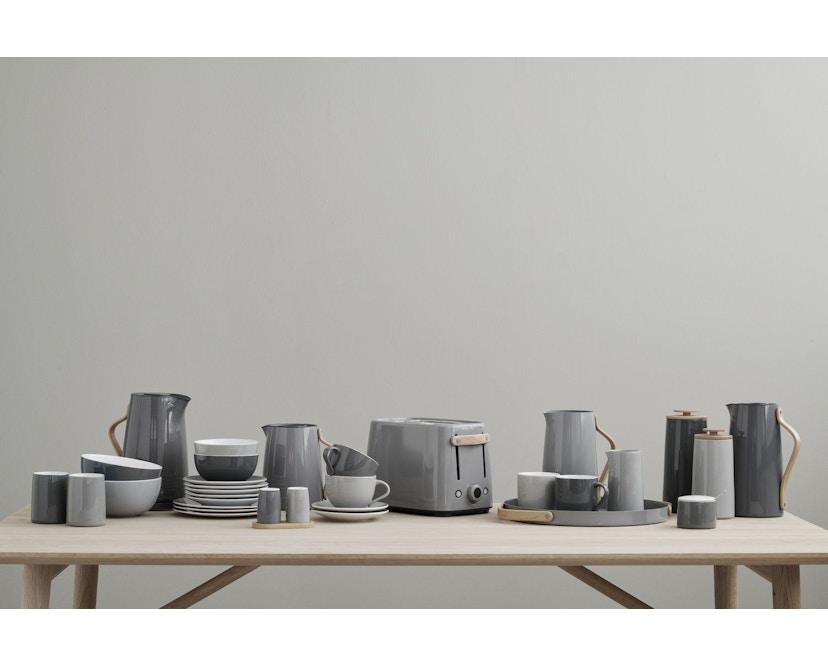 Stelton - Emma Kaffeedose/Aufbewahrungsdose 500 g - dark grey - 4