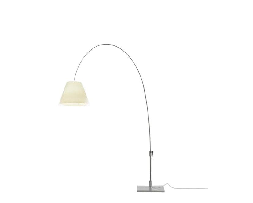 Luceplan - Lady Constanza vloerlamp - wit - zwart - 1