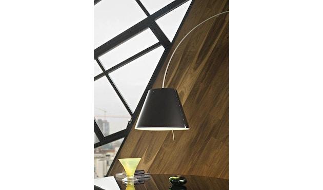 Luceplan - Lady Constanza vloerlamp - wit - zwart - 7