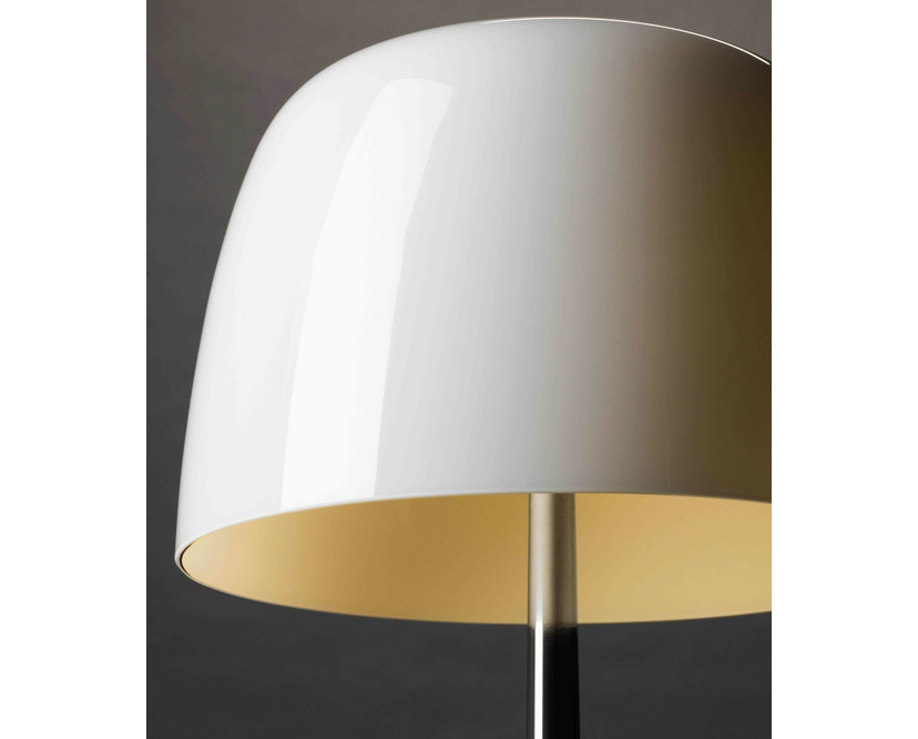 Foscarini - Lampe de table Lumiere Piccola - blanc - non dimmable - Cromo Nero - 8