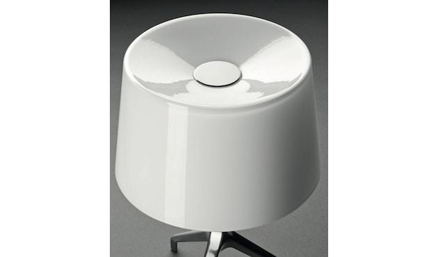 Foscarini - Lumiere XX tafellamp - Aluminium - wit - XXS Ø26 x hoogte 40 cm - 3