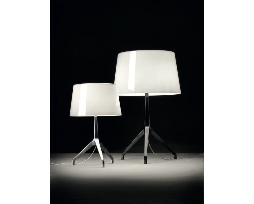 Foscarini - Lumiere XX tafellamp - Aluminium - wit - XXS Ø26 x hoogte 40 cm - 4