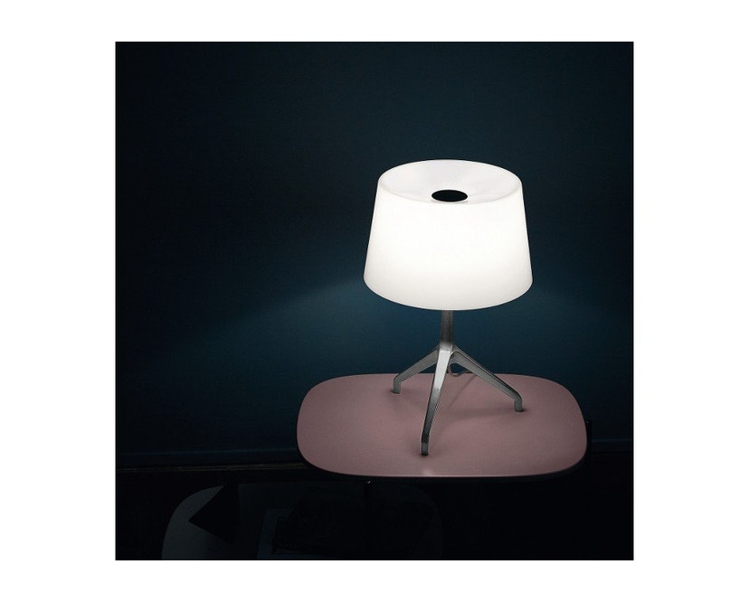 Foscarini - Lumiere XX tafellamp - Aluminium - wit - XXS Ø26 x hoogte 40 cm - 7