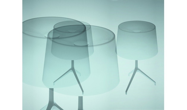 Foscarini - Lumiere XX tafellamp - Aluminium - wit - XXS Ø26 x hoogte 40 cm - 9