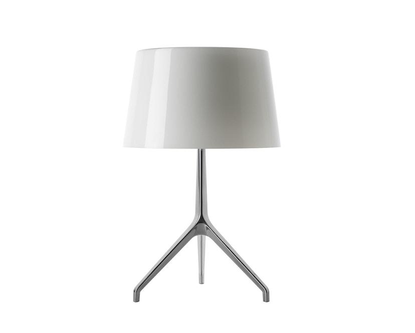 Foscarini - Lumiere XX tafellamp - Aluminium - wit - XXS Ø26 x hoogte 40 cm - 1