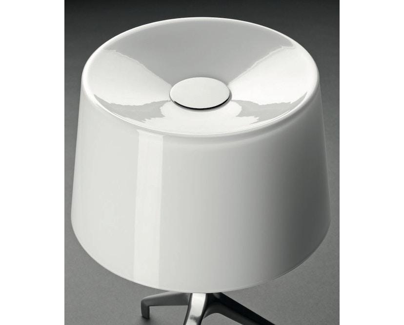 Foscarini - Lumiere XX tafellamp - Aluminium - grijs - XXS Ø26 x hoogte 40 cm - 3