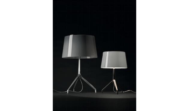 Foscarini - Lumiere XX tafellamp - Aluminium - grijs - XXS Ø26 x hoogte 40 cm - 5