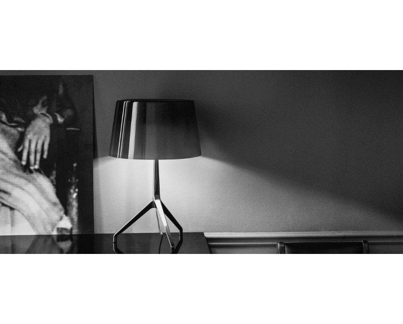 Foscarini - Lumiere XX tafellamp - Aluminium - grijs - XXS Ø26 x hoogte 40 cm - 6