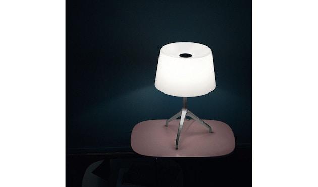 Foscarini - Lumiere XX tafellamp - Aluminium - grijs - XXS Ø26 x hoogte 40 cm - 7