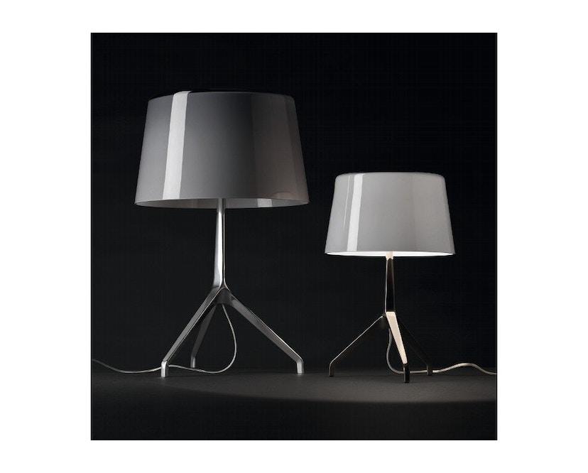 Foscarini - Lumiere XX tafellamp - Aluminium - grijs - XXS Ø26 x hoogte 40 cm - 8