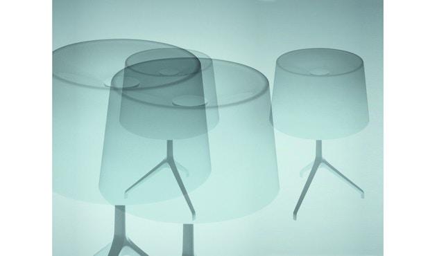 Foscarini - Lumiere XX tafellamp - Aluminium - grijs - XXS Ø26 x hoogte 40 cm - 9