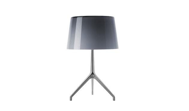 Foscarini - Lumiere XX tafellamp - Aluminium - grijs - XXS Ø26 x hoogte 40 cm - 1