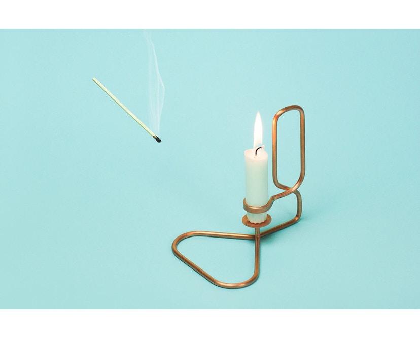 HAY - Lup Kerzenständer - Quadrat - schwarz - 4