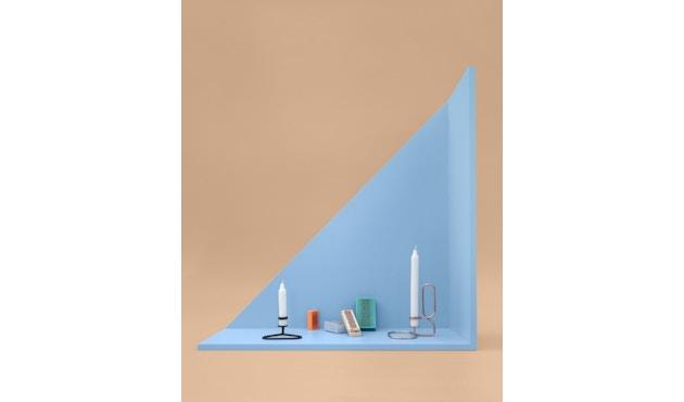 HAY - Lup Kerzenständer - Quadrat - kupfer - 3
