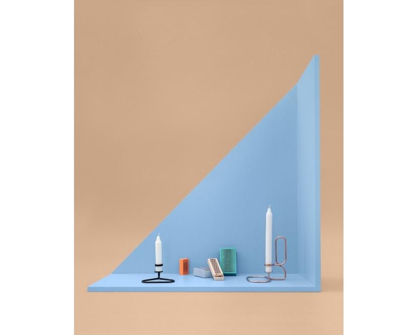 HAY - Lup Kerzenständer - Quadrat - schwarz - 3
