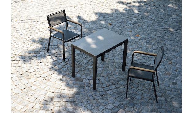 Jan Kurtz - Lux Alu stapelstoel - zwart - 3