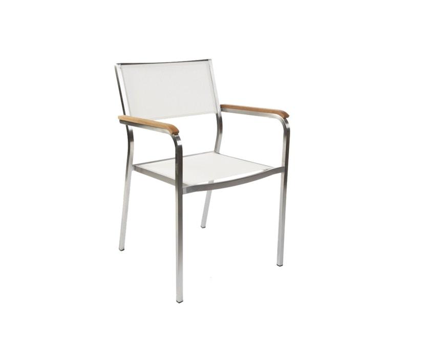 Jan Kurtz - Armlehnstuhl Lux - weiß - 6