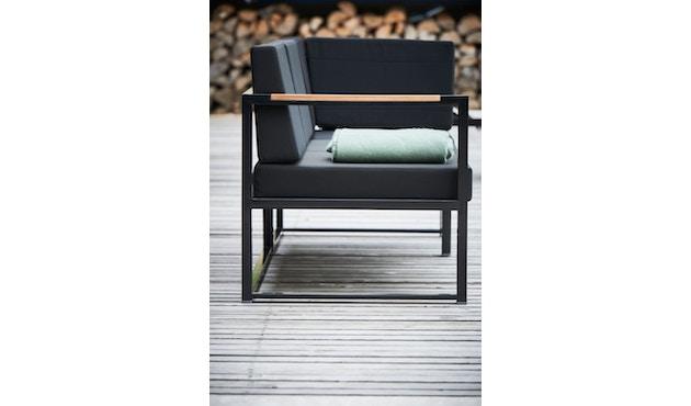 Jan Kurtz - Canapé d'angle Lux Lounge - Variante 1 - noir - noir - 3