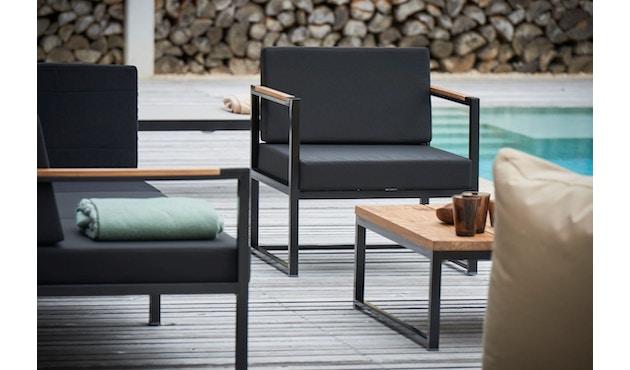 Jan Kurtz - Canapé d'angle Lux Lounge - Variante 1 - noir - noir - 4