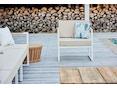 Jan Kurtz - Lux Lounge Eckkombi - Variante 1 - grau-weiß - Gestell weiß - 2