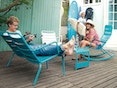 Fermob - LUXEMBOURG lage fauteuil - 47 antraciet mat - 5