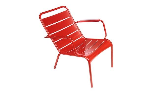 Fermob - LUXEMBOURG lage fauteuil - 67 klaproos gesatineerd - 1