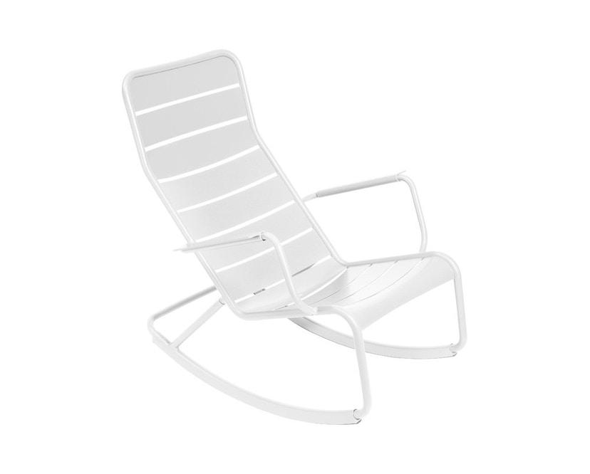 Fermob - LUXEMBOURG schommelstoel - 01 katoenwit mat - 3