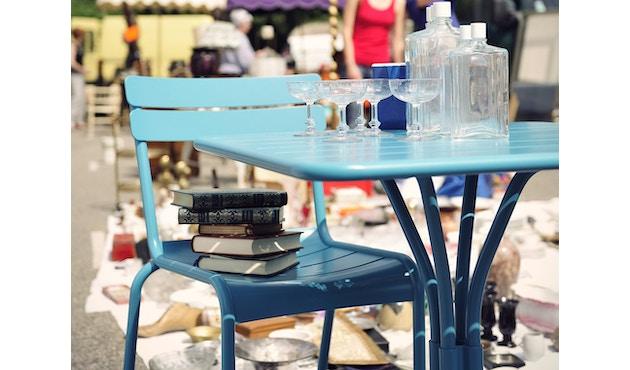 Fermob - LUXEMBOURG tafel met zuilvoet - 65 lindegroen mat - 3