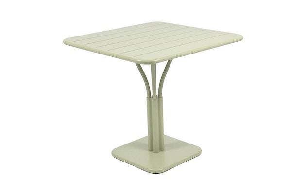 Fermob - LUXEMBOURG tafel met zuilvoet - 65 lindegroen mat - 1