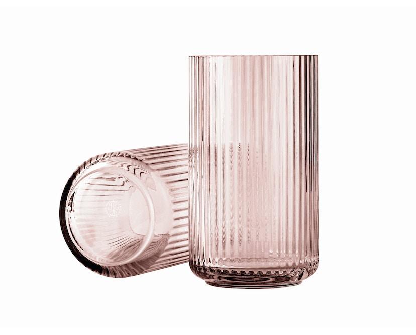 Lyngby Porcelæn - Lyngby Glasvase - 12 cm  - Burgundy - 1