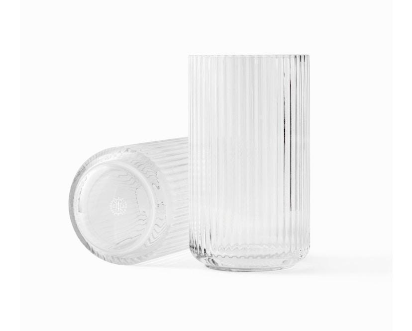 Lyngby Porcelæn - Lyngby Glasvase - 12 cm  - klar - 1