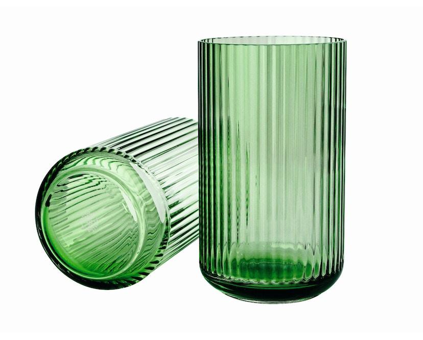 Lyngby Porcelæn - Lyngby Glasvase - 12 cm  - Kopenhagen grün - 1