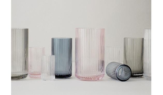 Lyngby Porcelæn - Lyngby Glasvase - 12 cm  - rauchig - 3