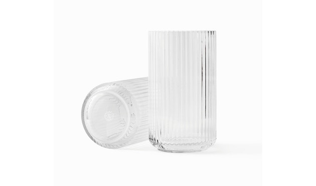 Lyngby Porcelæn - Lyngby Glasvase - 15 cm  - klar - 1