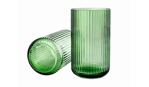 Lyngby Porcelæn - Lyngby Glasvase - 15 cm  - Kopenhagen grün - 1