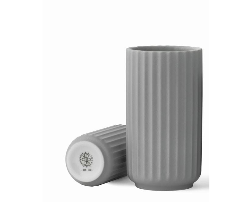 Lyngby Porcelæn - Lyngby Porzellanvase - 12 cm - hellgrau - 1