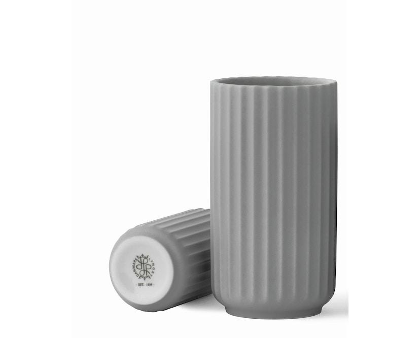 Lyngby Porcelæn - Lyngby Porzellanvase - 8 cm - hellgrau - 1