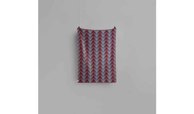 Roros Tweed - Lynild Decke - red-blue - 3