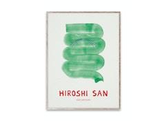 Hiroshi San Poster