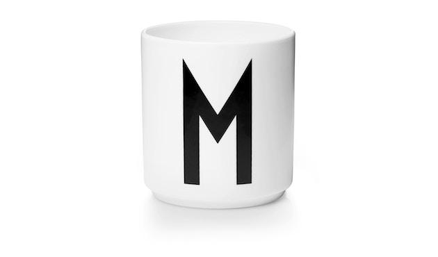 DESIGN LETTERS - Personal Porzellanbecher - weiß - M - 1