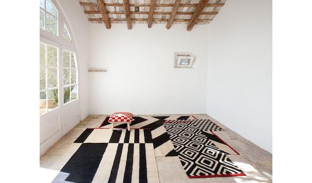 Nanimarquina - Mélange Stripes 1 Teppich - mehrfarbig - 80 x 240 - 6