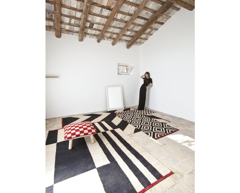 Nanimarquina - Mélange Stripes 1 Teppich - mehrfarbig - 80 x 240 - 7