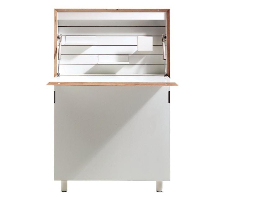 Müller Möbelwerkstätten - Sekretär Flatmate - weiß - Technikpaket 1 - 1