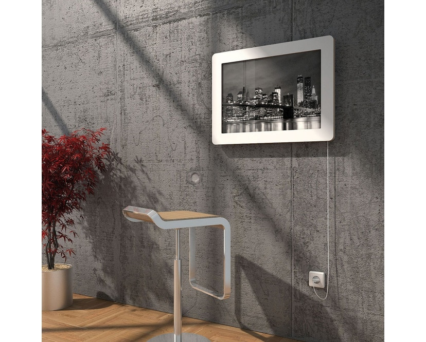 Müller Möbelwerkstätten - FLATFRAME Wandsekretär - Arbeitsplatte weiß - 4