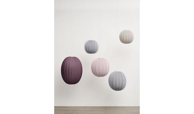 Made By Hand - Knit - Wit KW45 Hängeleuchte - silber - 9