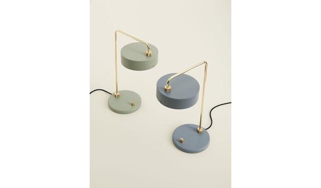 Made By Hand - Petite Machine Tischleuchte 01 - schiefer - 1