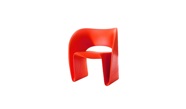 Magis - Low Chair Raviolo - rot - 1