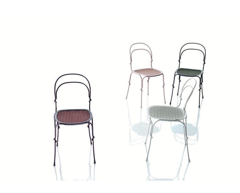 Magis - Stuhl Vigna - granitgrau/gruen - 4
