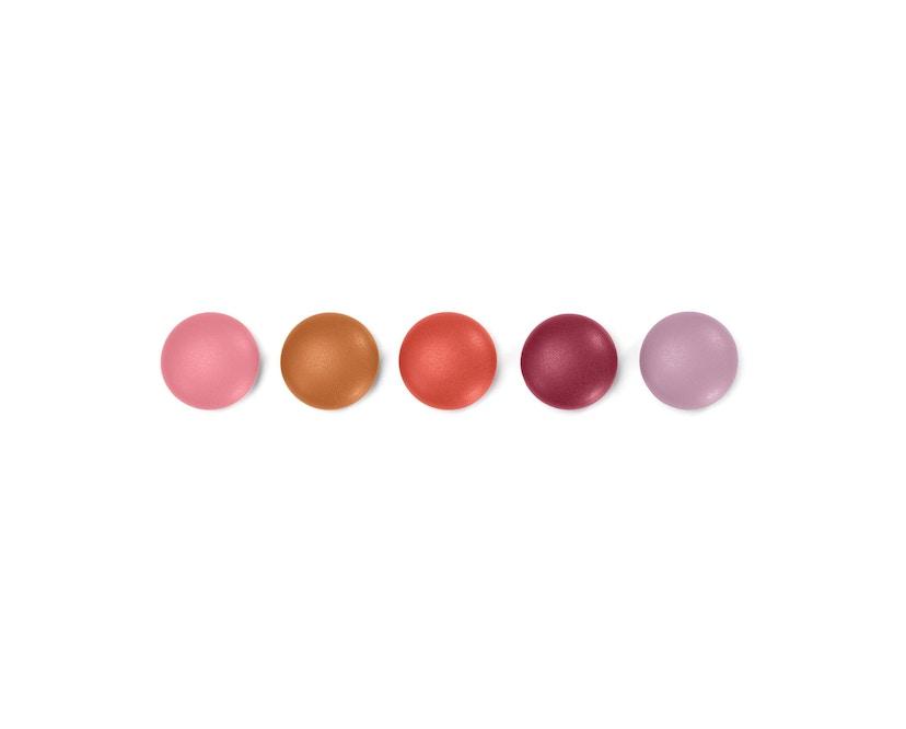 Vitra - Magnet Dots - Set rot - 1