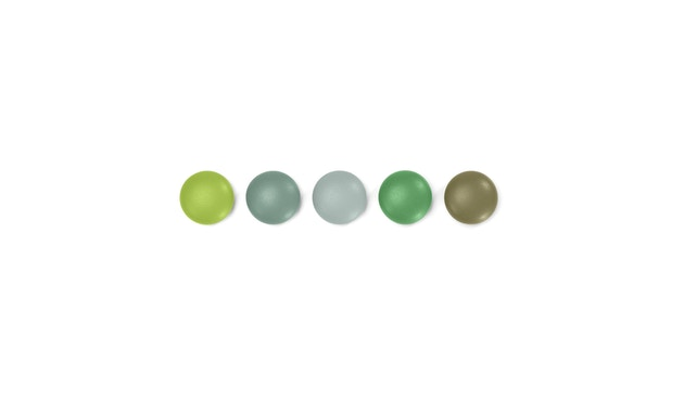 Vitra - Magnet Dots - Set grün - 1